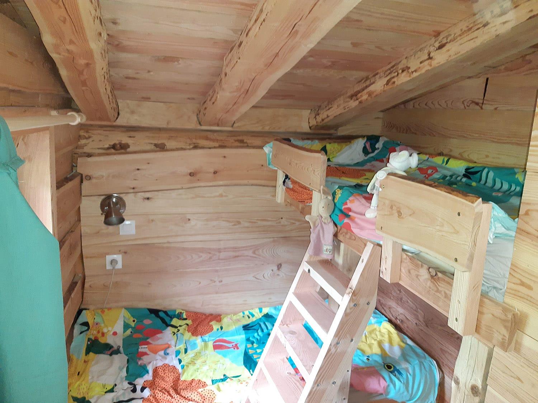 Chambre enfants 2 lits superposés