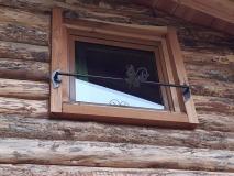 détails fenêtre - rambarde