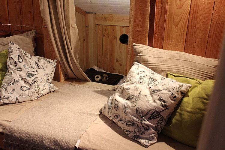 Canapé lit et descente pour la chambre d\'enfants