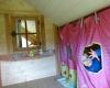 Cabane dans les arbres : chambre enfants